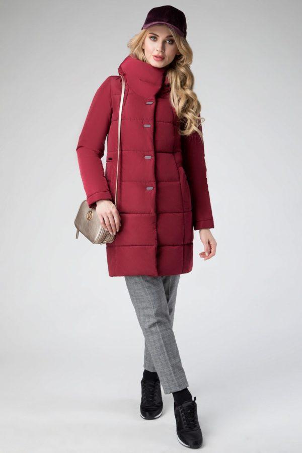 Плащевое пальто
