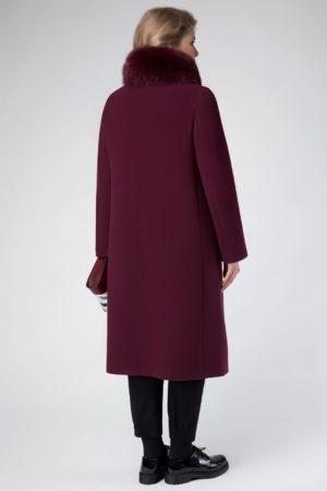 пальто из велюра