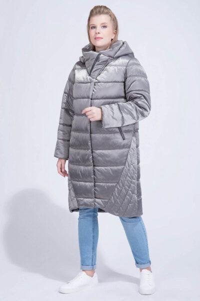 Женское плащевое пальто